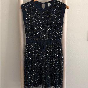 Crewcuts Girls tulle overlay dress